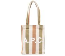 A.P.C. Gestreifter Lou Shopper