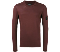 Pullover mit Logo-Schild - men - Baumwolle - XXL