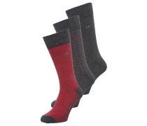 ENZO 3 PACK Socken graphite heather