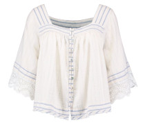 SEE SAW TOP - Bluse - ivory