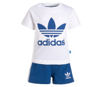 SET Shorts white/blue