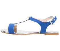 Riemensandalette electric blue