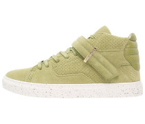 SASHIMI Sneaker high light olive/cream