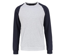 ONSFAN Sweatshirt light grey melange/dark navy