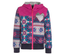 Sweatjacke fuchsia rose