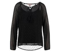 2IN1 Bluse black