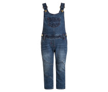 MEXICAN HEART Latzhose blue denim/blue