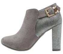High Heel Stiefelette gris