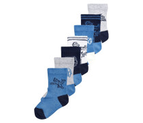 7 PACK - Socken - blue