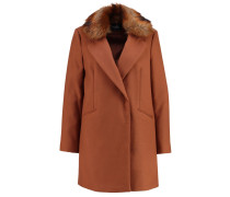 Wollmantel / klassischer Mantel rust