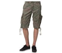 TERMINAL C Shorts woodland camo