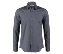 MARSEILLE SLIM FIT Businesshemd charcoal