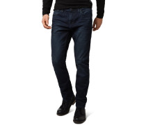 AEDAN Jeans Slim Fit dirty darkstone wash