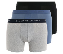 HELMER 3 PACK - Panties - blau/grau/schwarz