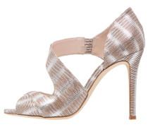 LAURA High Heel Sandaletten silver