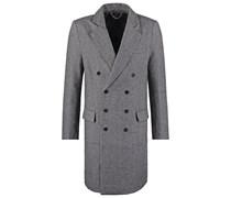 TROTTER Wollmantel / klassischer Mantel grey