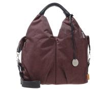 ECOYA Wickeltasche burgundy red