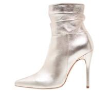 High Heel Stiefelette - platino