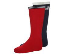 VARSITY 2 PACK Socken red/navy