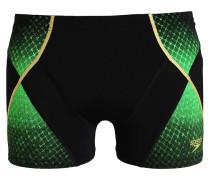 Badehosen Pants black/fluo green/global gold