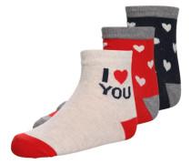 3 PACK Socken multi