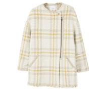 Wollmantel / klassischer Mantel beige