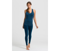 ASANA Top petrol blue