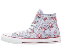 Sneaker high blau/rot