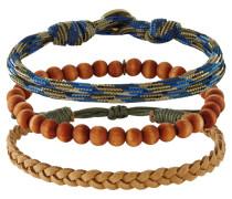 MELAMORPHO 3 PACK Armband brown