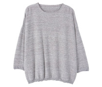 Strickpullover - medium heather grey