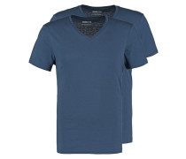 2 PACK TShirt basic dark blue
