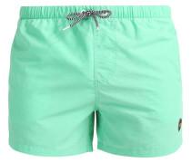 Badeshorts - maldives green