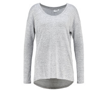 Strickpullover light heather grey