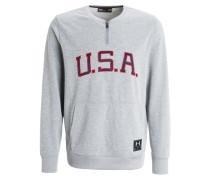 USA Sweatshirt grey/red