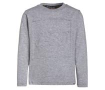 TEO Langarmshirt grey melange