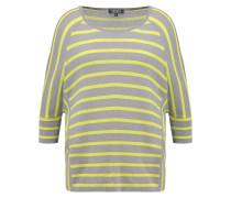 Langarmshirt gris/citrus