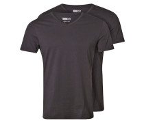 2 PACK TShirt basic black