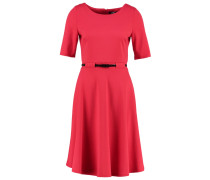 Jerseykleid - dark red
