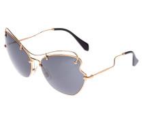 Sonnenbrille goldcoloured