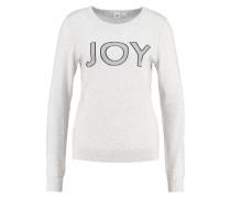JOY Strickpullover light heather grey