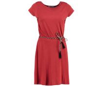 SALOME - Jerseykleid - kahlo red