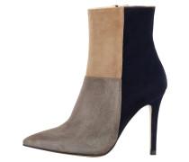 High Heel Stiefelette grey/dark blue