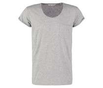 RAW TShirt basic grey melange