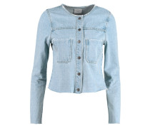 VMMONA Jeansjacke light blue denim