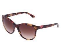 Sonnenbrille pink/brown