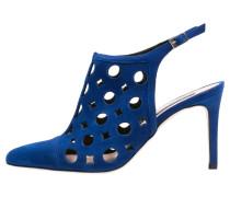 High Heel Stiefelette cobalto