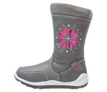 LULLABY TEX Snowboot / Winterstiefel anthra/pink