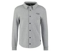 WINGFIELD Sweatjacke heather grey