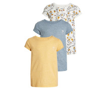 3 PACK TShirt print yellow