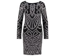 UNIVERSE - Cocktailkleid / festliches Kleid - blacksilver